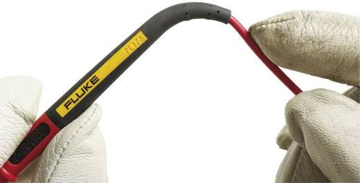 Fluke TL175E Sicherheits-Messleitungs-Set [Lamellenstecker 4 mm - Prüfspitze] 1.2 m Schwarz, Rot