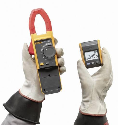 Stromzange, Hand-Multimeter digital Fluke 381 Kalibriert nach: Werksstandard CAT III 1000 V, CAT IV 600 V Anzeige (Coun