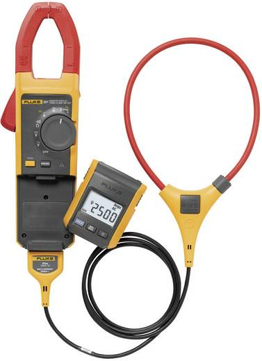 Fluke 381 Stromzange, Hand-Multimeter digital Kalibriert nach: Werksstandard (ohne Zertifikat) CAT III 1000 V, CAT IV 6