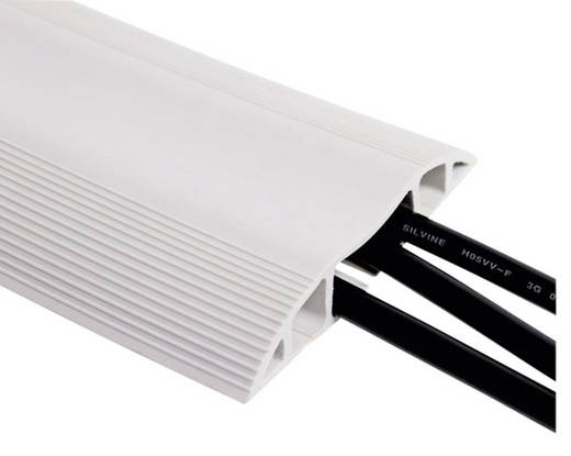Kabelbrücke PVC Licht-Grau Anzahl Kanäle: 3 3000 mm Dataflex Inhalt: 1 St.