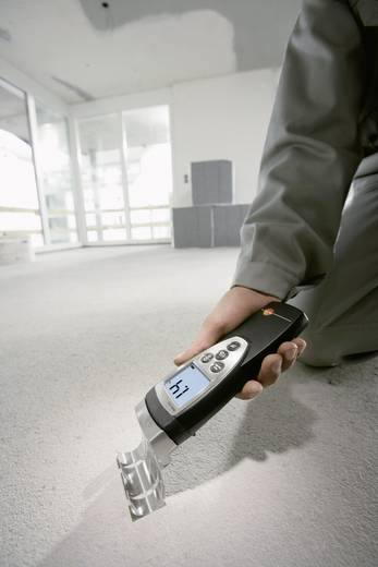 testo 616 Materialfeuchtemessgerät Messbereich Baufeuchtigkeit (Bereich) 0 bis 20 % vol Messbereich Holzfeuchtigkeit (B