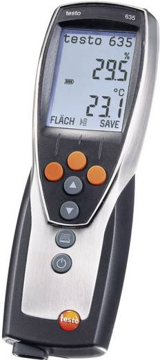 Luftfeuchtemessgerät (Hygrometer) testo 635-1 0 % rF 100 % rF Kalibriert nach: Werksstandard