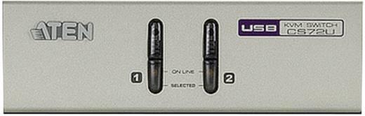 2 Port KVM-Umschalter VGA USB 2048 x 1536 Pixel CS72U ATEN