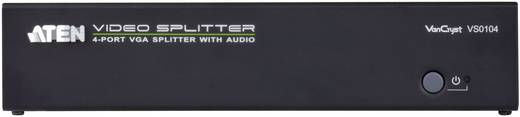 4 Port VGA-Splitter ATEN VS0104 1920 x 1440 Pixel Schwarz