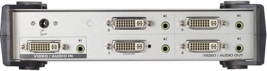 4 Port DVI-Splitter ATEN VS164-AT-G 1920 x 1200 Pixel Silber