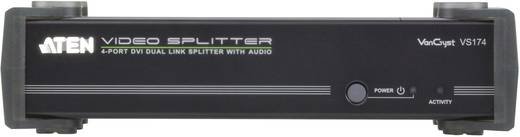 4 Port DVI-Splitter ATEN VS174 2560 x 1600 Pixel Schwarz