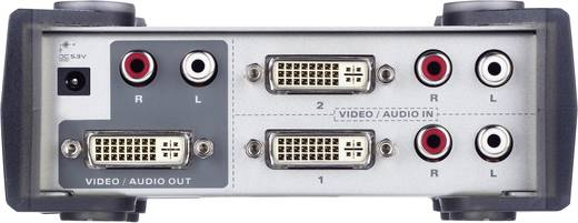 2 Port DVI-Switch ATEN VS261-AT-G mit Fernbedienung 1920 x 1200 Pixel