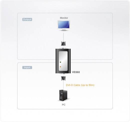 DVI Extender (Verlängerung) über Signalkabel ATEN VE560 50 m