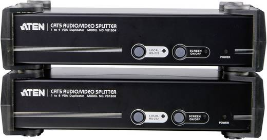 4 Port VGA-Splitter ATEN VS1504T-AT-G 1920 x 1200 Pixel Schwarz