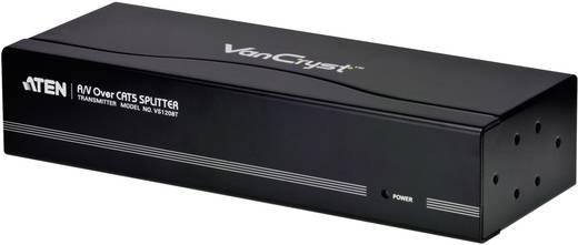 ATEN VS1208T-AT-G 8 Port VGA-Splitter 1920 x 1200 Pixel Schwarz