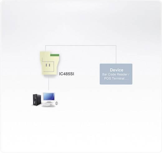 Konverter [1x Seriell (25 pol.) - 1x RJ11-Buchse, RS422-Buchse, RS485-Buchse] ATEN IC485SN-AT