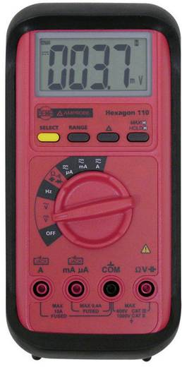 Hand-Multimeter digital Beha Amprobe Hexagon 110 Kalibriert nach: Werksstandard CAT II 1000 V, CAT III 600 V Anzeige (Counts): 4000