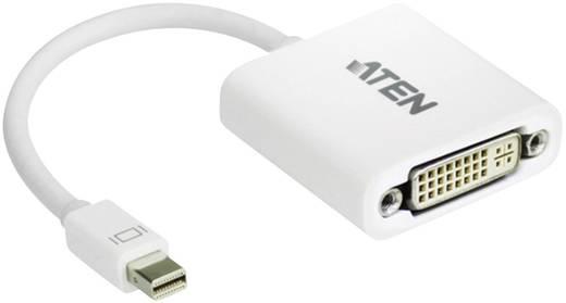 DisplayPort / DVI Adapter [1x Mini-DisplayPort Stecker - 1x DVI-Buchse 24+5pol.] Weiß ATEN