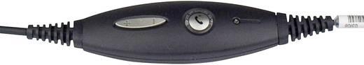 Telefon-Headset QD (Quick Disconnect) schnurgebunden, Stereo Jabra GN2000 On Ear Schwarz