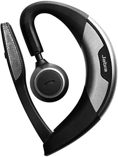 Telefon-Headset Bluetooth schnurlos, Mono Jabra Motion™ UC In Ear Schwarz, Silber