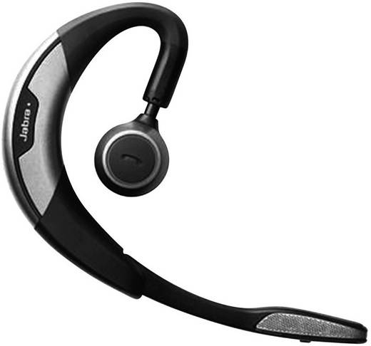 Telefon-Headset Bluetooth schnurlos, Mono Jabra Motion™ UC In Ear Schwarz, Silber