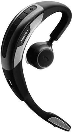 Telefon-Headset Bluetooth schnurlos, Mono Jabra Motion UC In Ear Schwarz, Silber