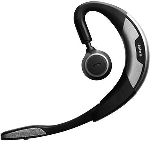 Telefon-Headset Bluetooth schnurlos, Mono Jabra Motion™ UC MS In Ear Schwarz, Silber