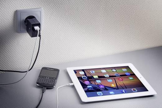 USB-Ladegerät Steckdose VOLTCRAFT SPS-2400/2 Ausgangsstrom (max.) 2400 mA 2 x USB