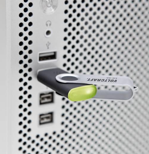 VOLTCRAFT CO-20 USB-Luftqualitätssensor, Raumluftmessgerät, USB-Stick zur Anzeige der Luftqualität, Auswerte-Software