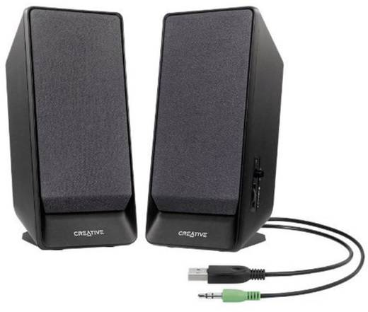 2.0 PC-Lautsprecher Kabelgebunden Creative Labs A50 1.6 W Schwarz