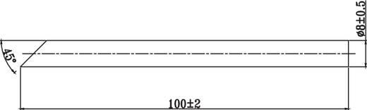 Lötspitze abgeschrägt TOOLCRAFT Spitzen-Größe 8 mm Inhalt 1 St.