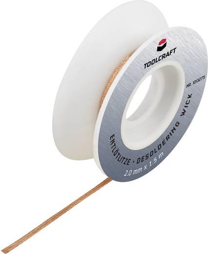 Entlötlitze TOOLCRAFT ZD-180 Länge 1.5 m Breite 1.5 mm