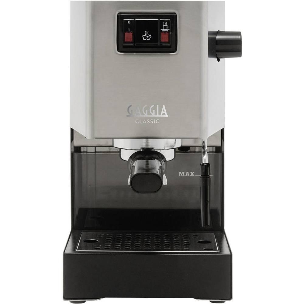 gaggia classic espressomaschine siebtr germaschine ri 9303 11 edelstahl 1300 w im conrad online. Black Bedroom Furniture Sets. Home Design Ideas