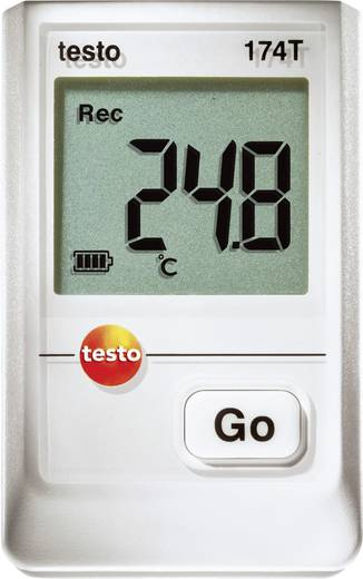 testo 174T Temperatur-Datenlogger Messgröße Temperatur -30 bis +70 °C