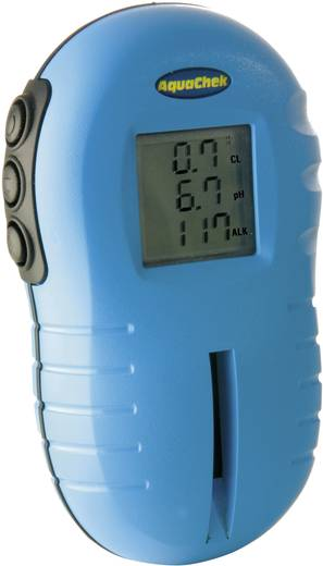 Aquachek TruTest Kombi-Messgerät Alkalinität, Chlor, pH-Wert Kalibriert nach Werksstandard (ohne Zertifikat)