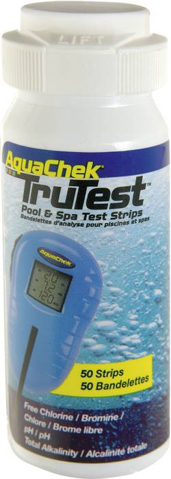 Image of Aquachek 999942 Teststäbchen Chlor, pH-Wert 50 St.