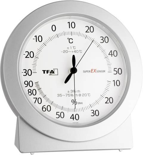 Luftfeuchtemessgerät (Hygrometer) TFA Analog 10 % rF 99 % rF Kalibriert nach: Werksstandard (ohne Zertifikat)