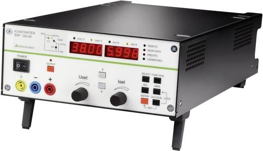 Labornetzgerät, einstellbar Gossen Metrawatt SSP 120-40 0 - 40 V/DC 0 - 6 A 120 W RS-232 programmierbar Anzahl Ausgänge