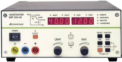 Labornetzgerät, einstellbar Gossen Metrawatt SSP 240-40 0 - 40 V/DC 0 - 12 A 240 W RS-232 programmierbar Anzahl Ausgänge