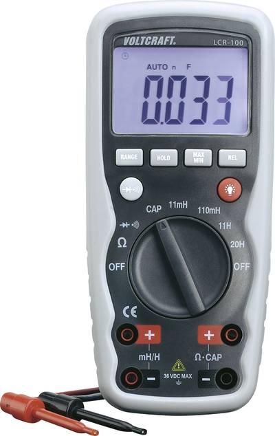 Tester per componenti VOLTCRAFT LCR-100 Calibrato: di fabbrica (senza certificato)
