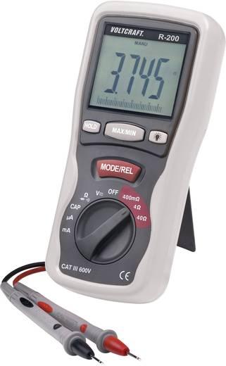 Komponententester digital VOLTCRAFT R-200 Kalibriert nach: ISO CAT III 600 V Anzeige (Counts): 4000