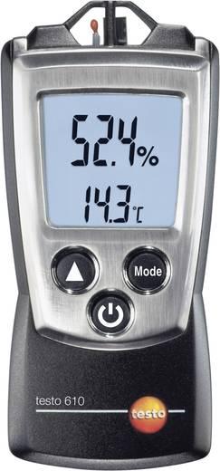 testo 610 Luftfeuchtemessgerät (Hygrometer) 0 % rF 100 % rF Taupunkt-/Schimmelwarnanzeige Kalibriert nach: DAkkS