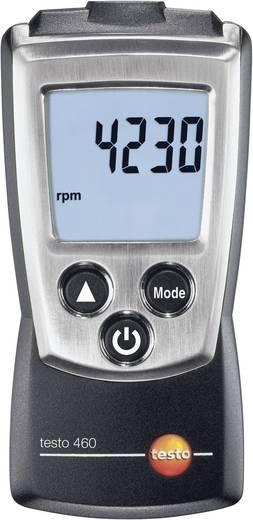 testo 460 Optischer Drehzahlmesser 1.7 - 500.0 rps/100 - 30000 U/min, LED-Messfleckmarkierung Kalibriert nach ISO
