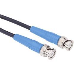 Měřicí kabel BNC Testec 81013 RG58, 0,5 m, modrá