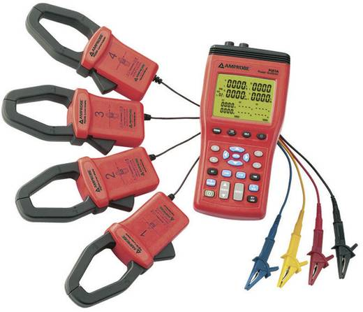 Beha Amprobe PQ55A Power Analyzer, Netz-Analysegerät, Netzanalysator CAT III 600 V Kalibriert nach ISO