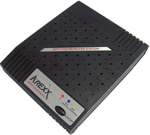 Datenlogger-Repeater Arexx RPT-7700 Kalibriert nach Werksstandard