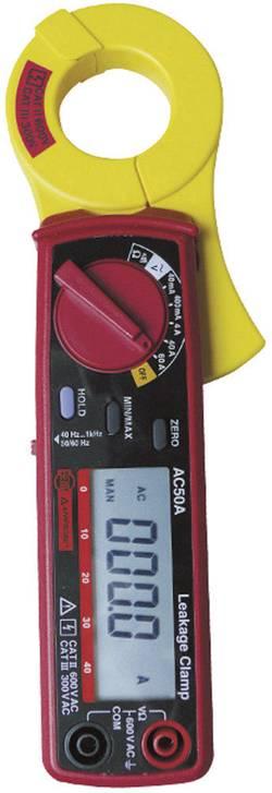 Pince de mesure du courant de fuite AC50A Etalonné selon DAkkS Beha Amprobe AC50A-D 3454543
