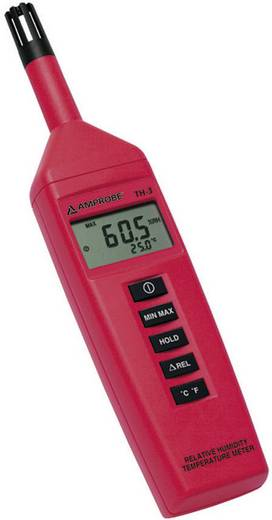 Beha Amprobe TH-3 Luftfeuchtemessgerät (Hygrometer) 0 % rF 99 % rF Kalibriert nach: DAkkS