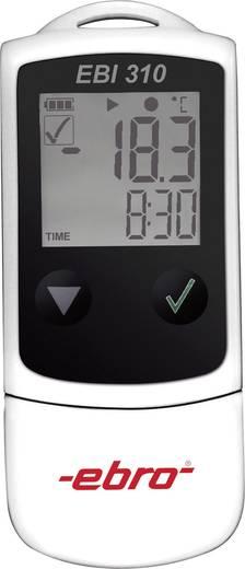 Temperatur-Datenlogger ebro EBI 310 Messgröße Temperatur -30 bis 75 °C Kalibriert nach Werksstandard (ohne Zerti