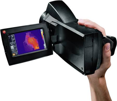 Thermal imaging cameras for surface temperature measurement