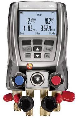 Digitální servisní přístroj pro chladicí systémy testo 570-2 set, 2x sonda + kufr