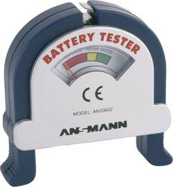 Image of Ansmann Batterietester Check-It Messbereich (Batterietester) 1,2 V, 1,5 V, 3 V, 9 V Akku, Batterie 4000001-510