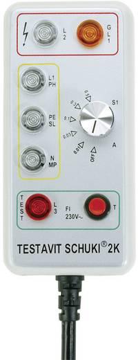 Testboy Testavit Schuki 2K Steckdosentester CAT III 300 V LED Werksstandard (ohne Zertifikat)