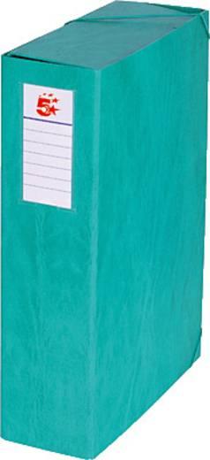 5 Star™ Dokumentenbox Karton, grün, 90mm