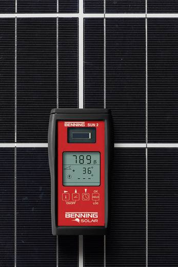 Photovoltaik-Multimeter Benning SUN 2 Kalibriert nach: Werksstandard